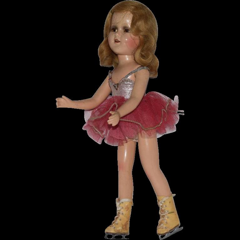 Madame Alexander Sonja Henie Composition Celebrity Doll