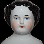 Kister German Flat Top China Head Doll - Red Tag Sale Item