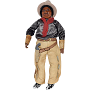 Unique Ethnic Cowboy in Original Costume