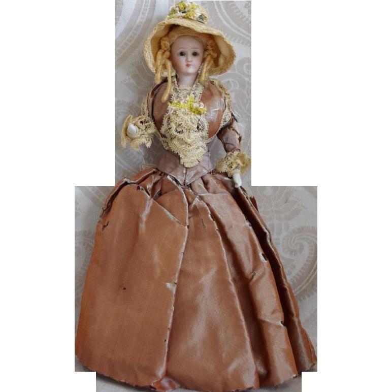 All Original German Bisque Simon & Halbig Little Women Doll