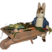 R. John Wright Peter Rabbit and the Garden Wheelbarrow