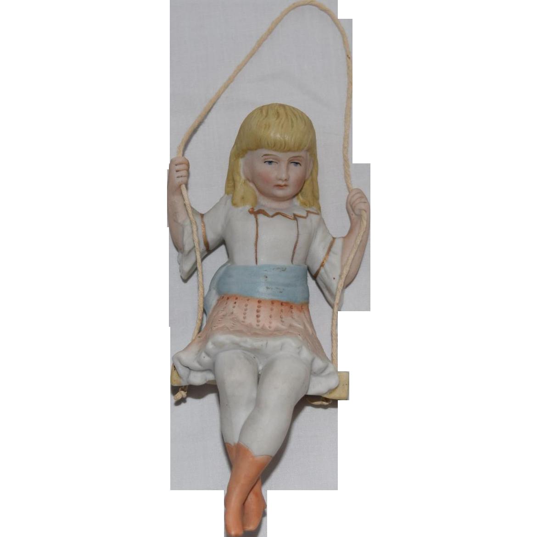 German All Bisque Blonde Girl Swinger