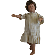 Schoenhut Wooden Character Girl Doll