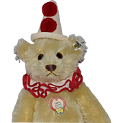 Steiff Replica Yellow Teddy-Clown Bear
