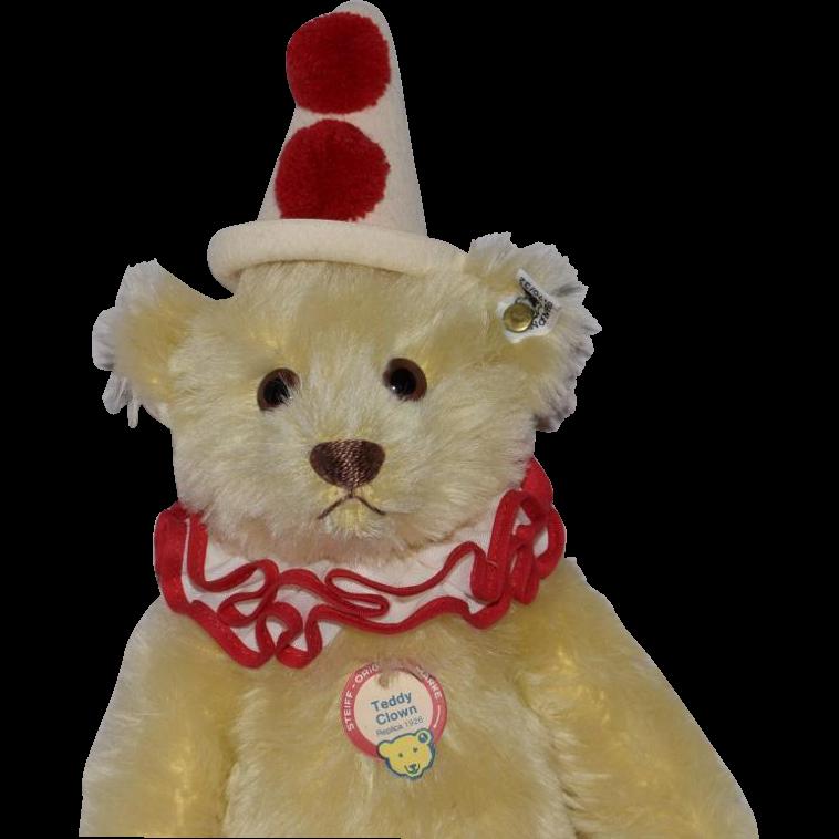 Steiff Replica Yellow Teddy-Clown Bear