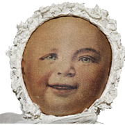 """Babyland Rag Cloth Baby Doll with """"Life Like"""" Face"""