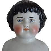 Highland Mary German China Head Doll by Alt, Beck & Gottschalck