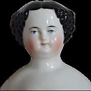 Alt, Beck & Gottschalck Glazed Porcelain China Head Doll