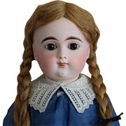 French Bisque Head Character Doll by Emile Douillet