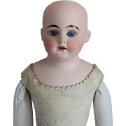 German Bisque Head 1894 Doll by Armand Marseille