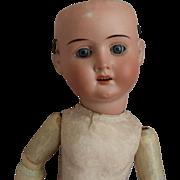 Recknagel German Bisque Head Doll