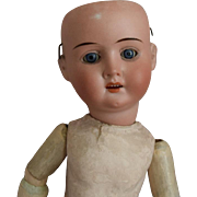 Recknagel German Bisque Head Doll