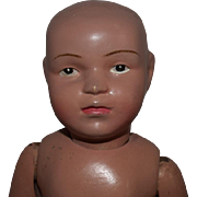 Wooden Schoenhut Child Doll in Need of Love