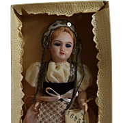 Jumeau French Bisque Head Exposition Bebe in Original Box