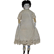 German China Head Low Brow Doll by Hertwig