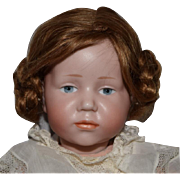 "German Bisque Head Character Doll ""Marie"" by Kammer & Reinhardt"