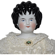 German China Head Curly Top by Alt, Beck & Gottschalck