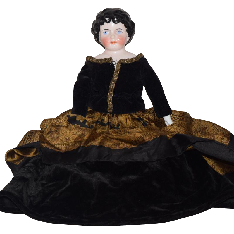 German China Head Doll by Kling