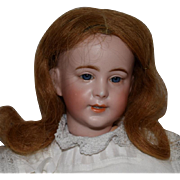 French Bisque Character Doll by SFBJ