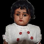 Brown German Bisque Head Kammer & Reinhardt Doll