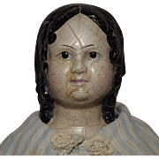Early and Rare Rubber Head Doll