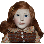 Emily Limited Edition Porcelain and Wood Artist Doll by Lynn and Michael Roche