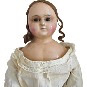 Early English Slit Head Wax Doll
