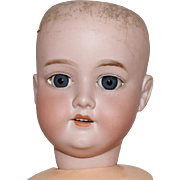 German Bisque Head Dolly Face Doll by Armand Marseille