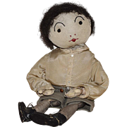 Sweet and Huggable Stockinette Vintage Cloth Boy Doll
