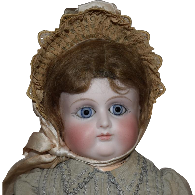 French Bisque Petit Amp Dumoutier Character Bebe Doll From