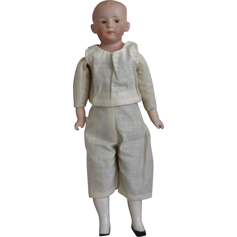 Gebruder Heubach German Bisque Head Character Doll