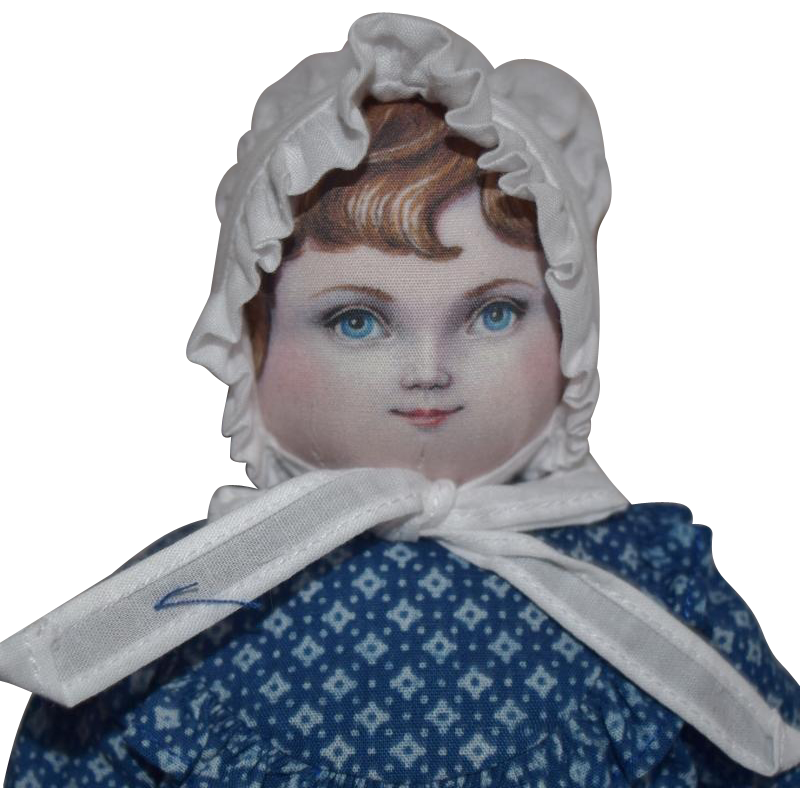 "Susan Fosnot Cloth ""Stella"" 2015 UFDC Convention Souvenir Doll"