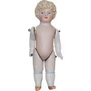 Small All Bisque German Doll