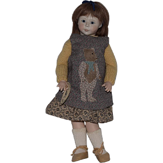 "Roche Porcelain ""Hannah"" Artist Doll"