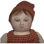 "Completed Cloth Doll Kit, ""Effie"" by Susan Fosnot"