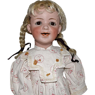 Heubach Laughing Bisque Head Child Doll