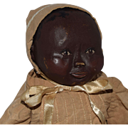 "Vintage Brown Artist Baby Doll ""Sara Jane"""