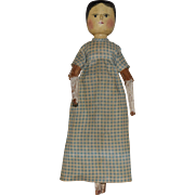Grodner-Tal Type German Peg Wooden Doll