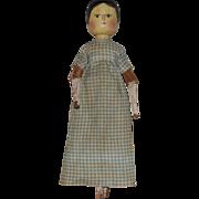 Grodner-Tal Type German Peg Wooden Doll