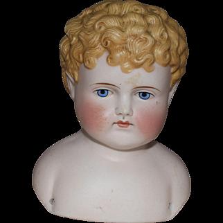 German Bisque Parian Shoulder Head by ABG