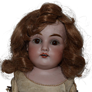German Bisque Head Doll by Kestner