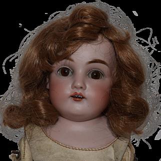 German Bisque Head Doll by Kestner