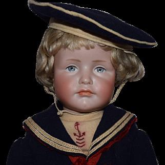 "Kammer & Reinhardt Bisque Head Character Doll 114 ""Hans"""