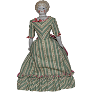 "Hertwig German Pet Name China Head Doll ""Ethel"""