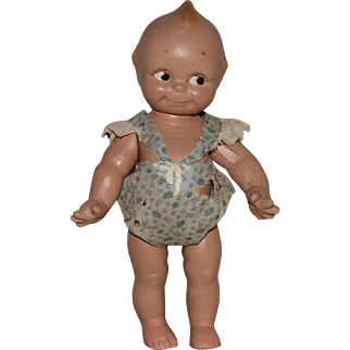 Rose O'Neill Composition Kewpie Doll