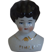 "German Pet Name China Head ""Ethel"" by Hertwig & Company"