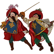 Klumpe Cloth Musketeer Dolls