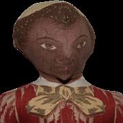 Ida Gutsell Black Cut and Sew Doll