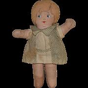 """Dollypop"" Cloth Doll by Bruckner"