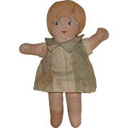 """Dollypop"" Cloth Doll by Bruckner"